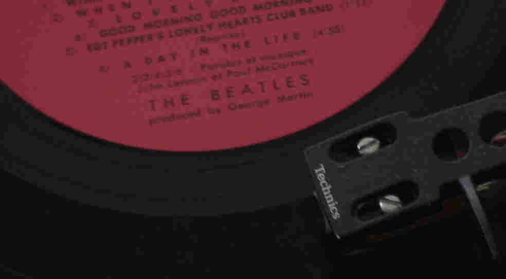 Album ender Sgt. Peppers German pressing