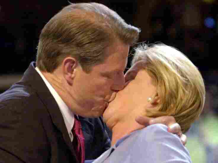 Al and Tipper Gore at the 2000 Democratic National Convention.
