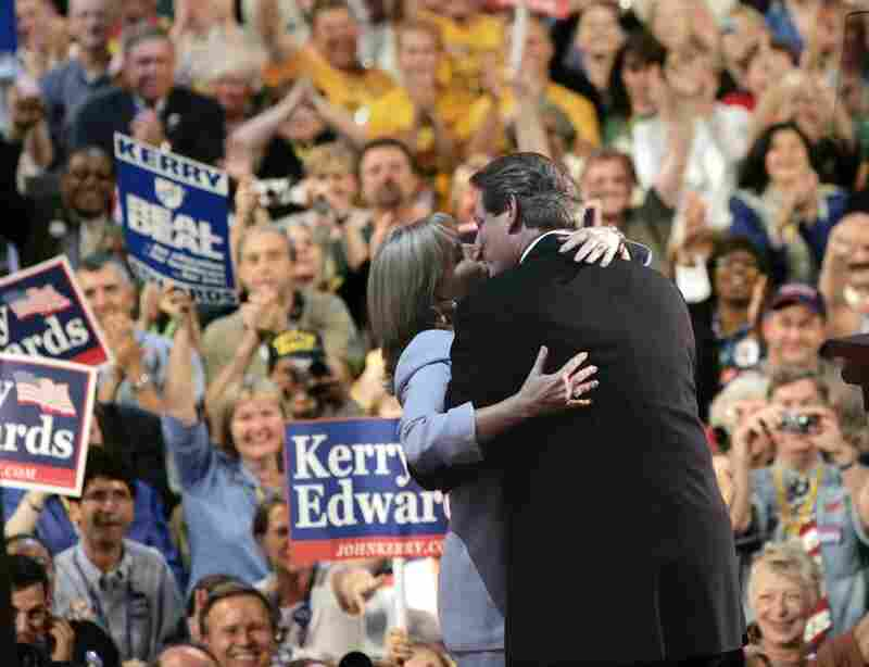Four years later, they were at it again during the Democratic National Convention in Boston on July 26, 2004.