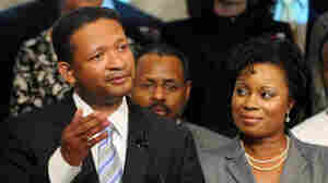 Rep. Artur Davis, with his w