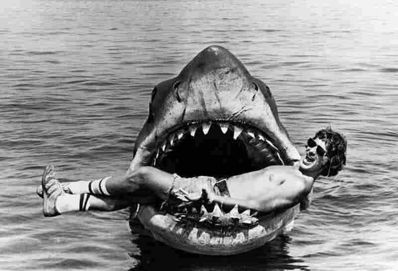 Steven Spielberg, director of Jaws.