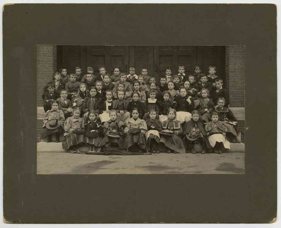 Class photo, circa 1890s, Concord Photo Co.