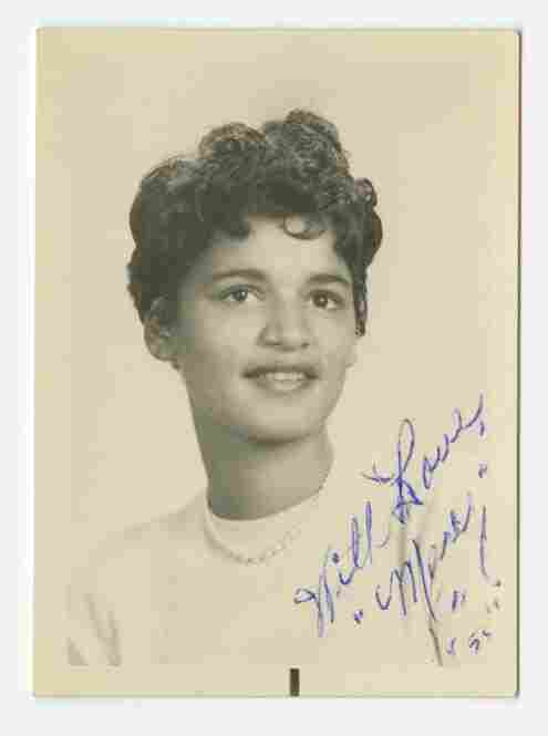 """School photograph of """"Mary,"""" 1955, unknown photographer"""