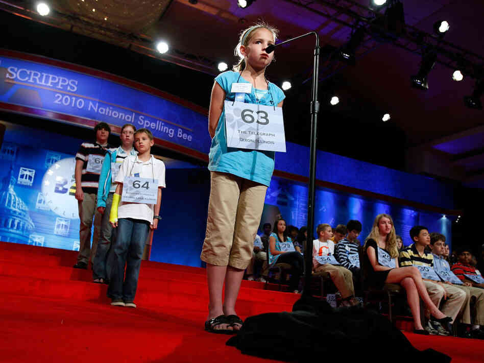 Talented Students Via For Title At Annual Scripps National Spelling Bee
