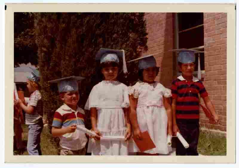 Kindergarten graduation, Texas, 1977, unknown photographer