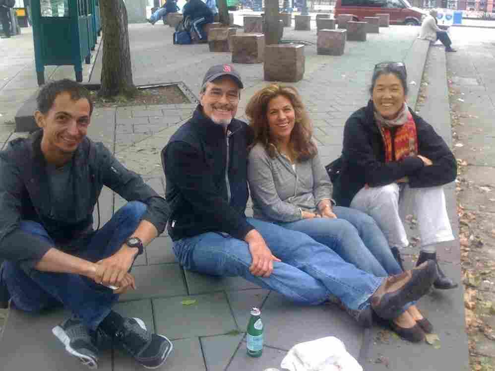 Ian, Tom, Rita, and Deb.