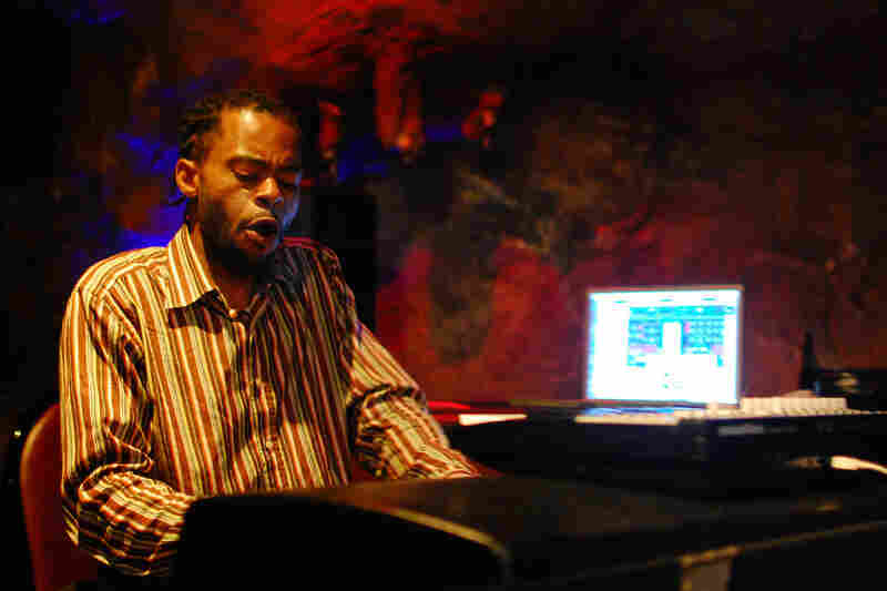 Marc Cary played a Rhodes piano, cued up samples on his laptop and twirled knobs on a keyboard synthesizer.