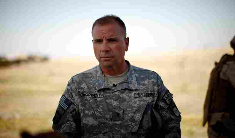 """Brig. Gen. Ben Hodges, deputy commander of U.S. forces in southern Afghanistan, helps direct the operation dubbed """"Cooperation for Kandahar."""" The effort is to bring stability to the country's second-largest city — the birthplace of the Taliban movement."""