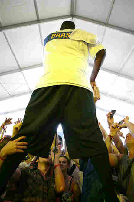 """NPR Music at Bonnaroo 2010: Jay Electronica live from """"This"""" stage"""