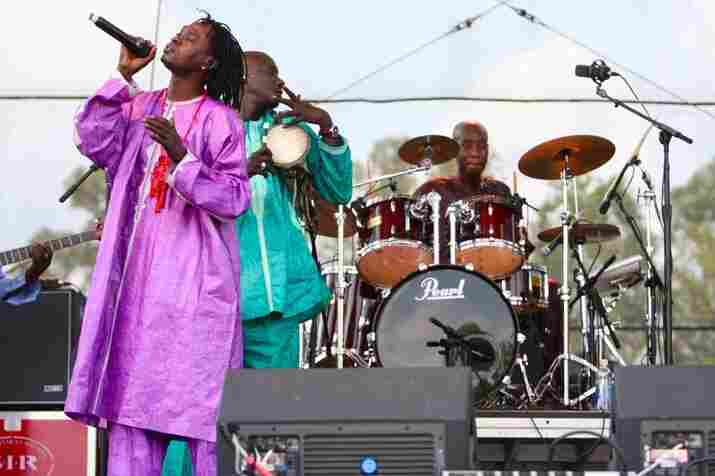 """Shantel Mitchell, Bonnaroo 2010: Baaba Maal live from the """"Which"""" stage."""