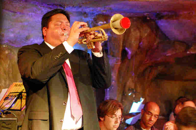 Trumpeter Joe Herrera is co-leader of the BCJO.