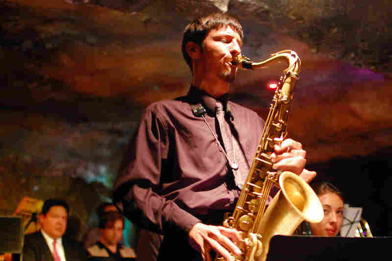 "Elijah Jamal Balbed, proclaimed D.C.'s Best New Jazz Musician by the Washington City Paper, took a long solo on Bob Mintzer's ""Spectrum."""