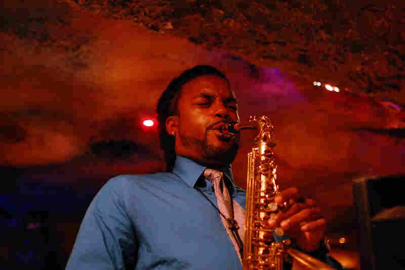 Saxophonist Brent Birckhead.