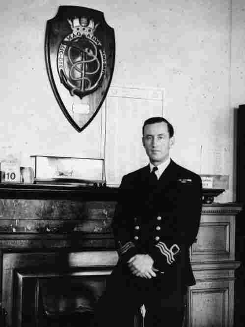 James Bond creator Ian Fleming, seen here in Room 39 of the Admiralty, the nerve center of British naval intelligence. Fleming lifted the idea for what would become Operation Mincemeat from an old detective novel.