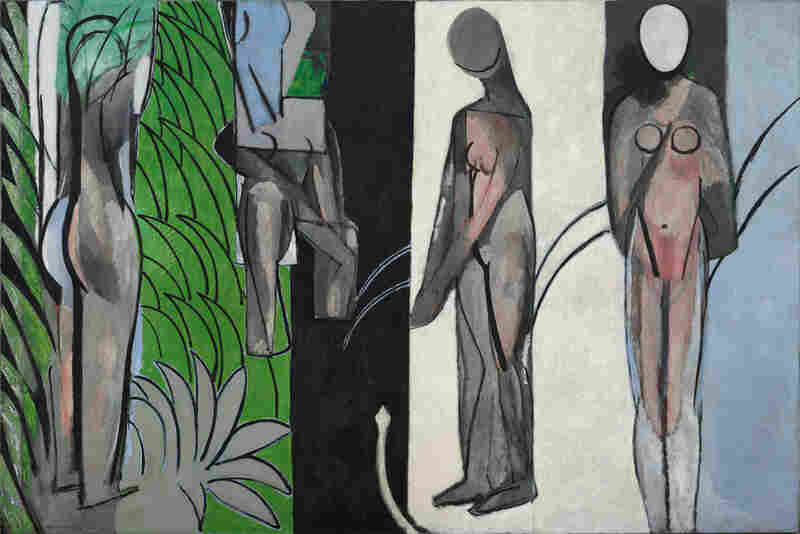 Bathers By A River  by Henri Matisse, 1909-10, 1913, 1916-17.