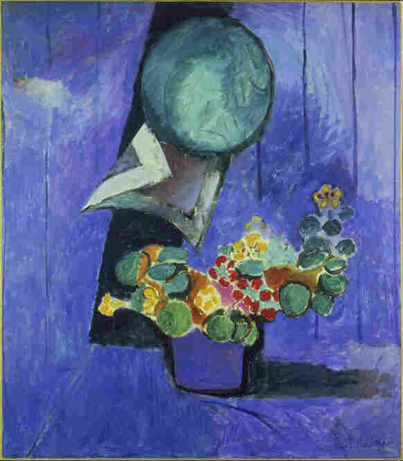 Flowers and Ceramic Plate by Henri Matisse, 1913.