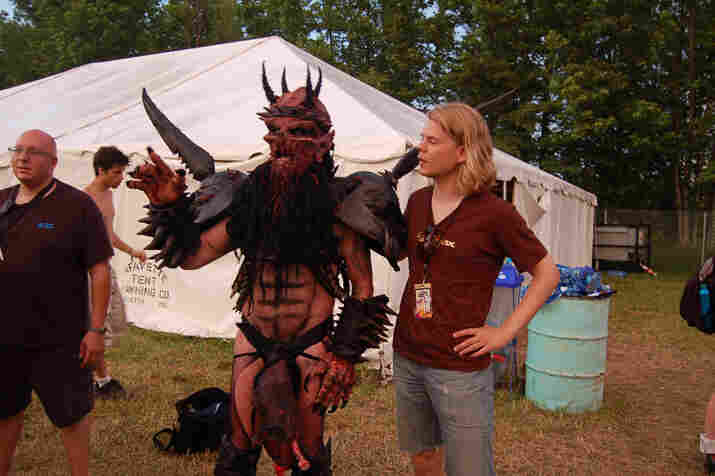 NPR Music's Lars Gotrich and Oderus Urungus of Gwar argue about high unemployment's long-term effect on inflation.