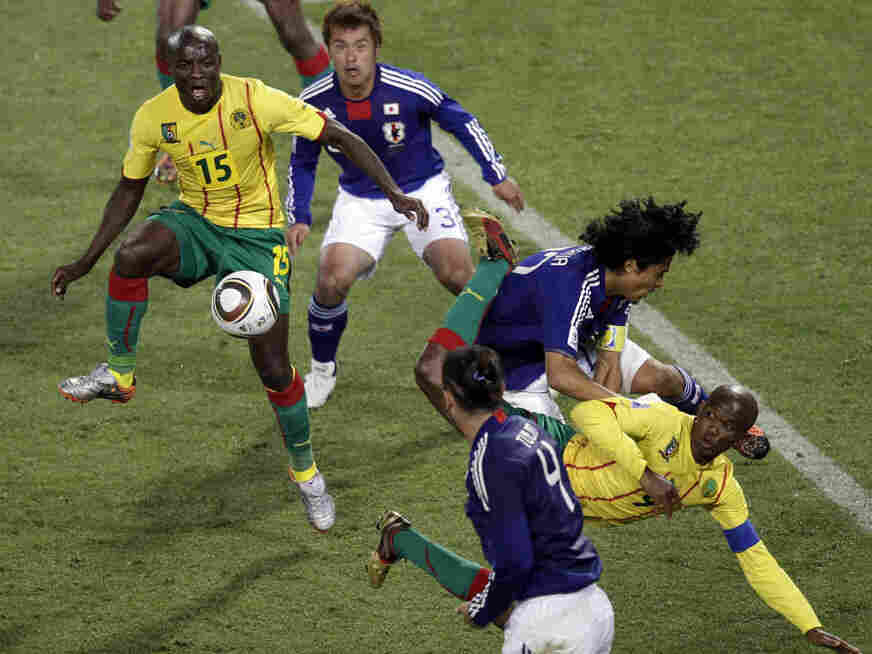 2010 World Cup: Cameroon v. Japan
