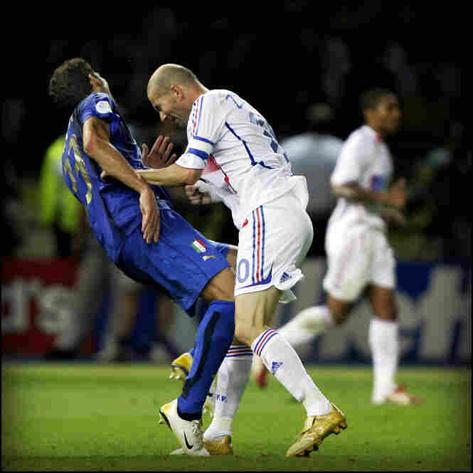 2006: During the 2006 World Cup final, French soccer superstar Zinedine Zidane single-handedly ended his career after head-butting Marco Materazzi of Italy. In the aftermath, there was much media speculation as to what provoked Zidane. A year later, Materazzi finally admitted he had taunted Zidane by calling his sister a whore.