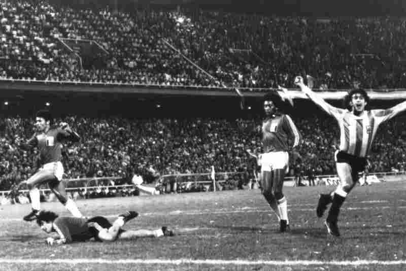 1978: After Argentina devastated Peru 6-0 in the third round of the 1978 World Cup, suspicions arose that Peru's Argentine-born goalkeeper, Ramon Quiroga (left), had intentionally allowed Argentina to score so its place in the finals was secured.