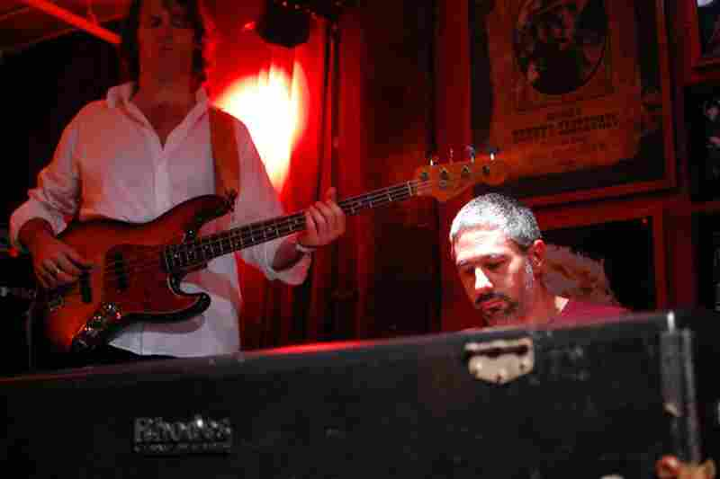 Jean-Michel Pilc drove a jammy, riff-based set on Fender Rhodes, with Tim Lefebvre on bass guitar.