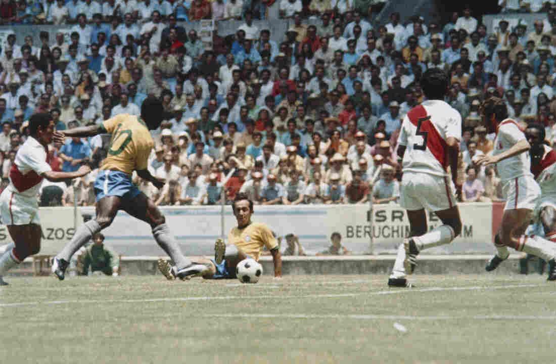Peru vs. Brazil match, 1970