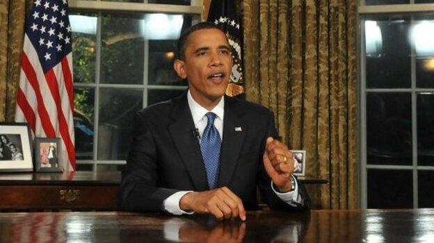 US President Barack Obama is photographe