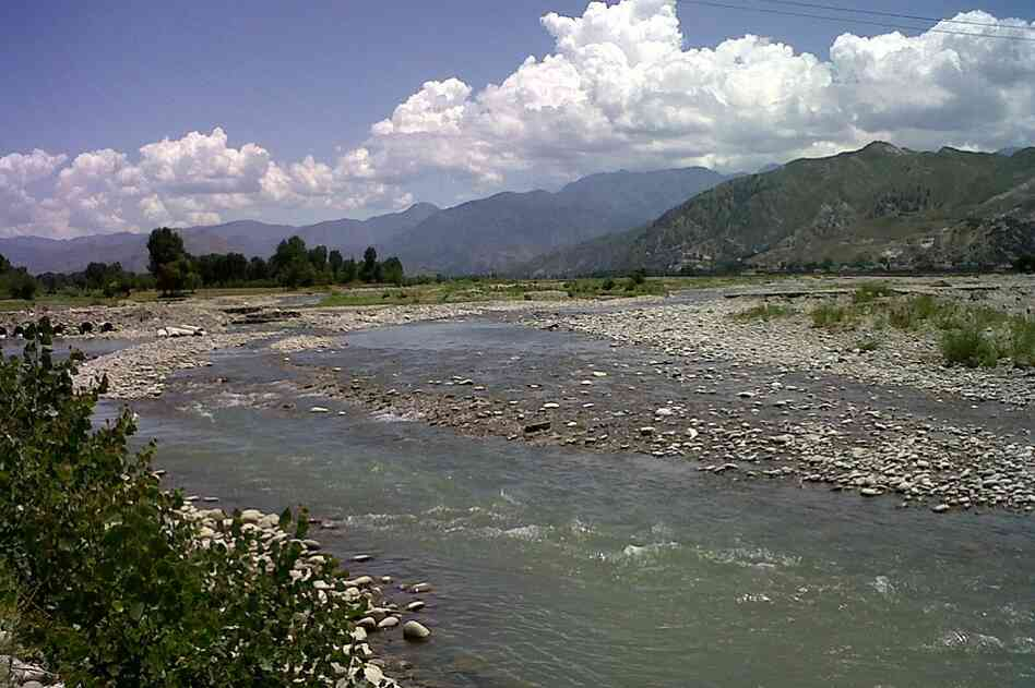 The Swat River in Pakistan runs through a valley that draws comparisons to Switzerland. A year ago, more than 2.5 million people were displaced from the region when the Pakistan army launched an offensive to expel Taliban militants. Now, life in Swat Valley is slowing returning to normal.