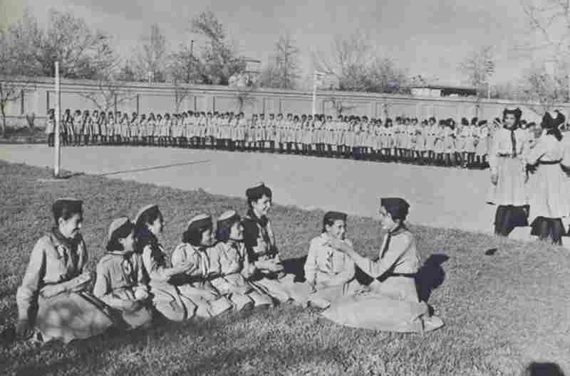 Afghanistan once had Boy Scouts and Girl Scouts. In the 1950s and '60s, such programs were very similar to their counterparts in the United States, with students in elementary and middle schools learning about nature trails, camping and public safety. But scouting troops disappeared entirely after the Soviet invasions in the late 1970s.