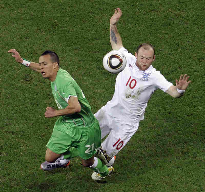 England vs. Algeria