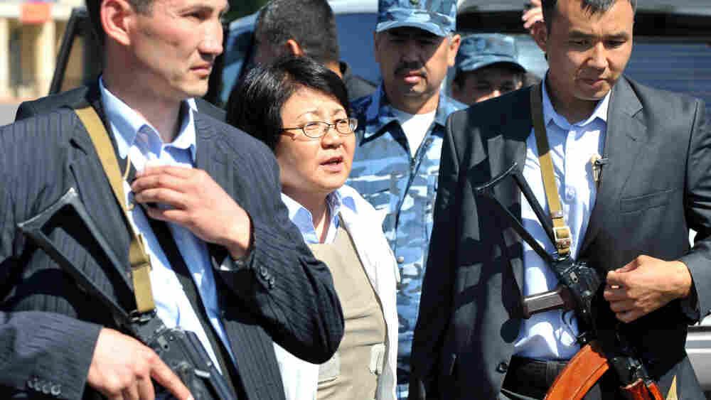 Kyrgyzstan's interim leader Roza Otunbay