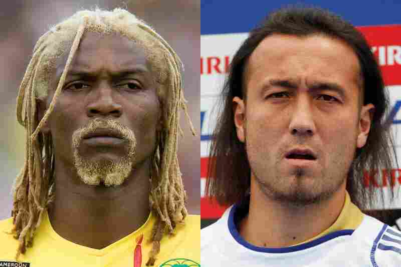 Cameroon vs. Japan: CameroonThrough sheer dedication to his hair Rigobert Song can singlehandedly take down any team. Doubt his dedication to style? Check out the next photo.