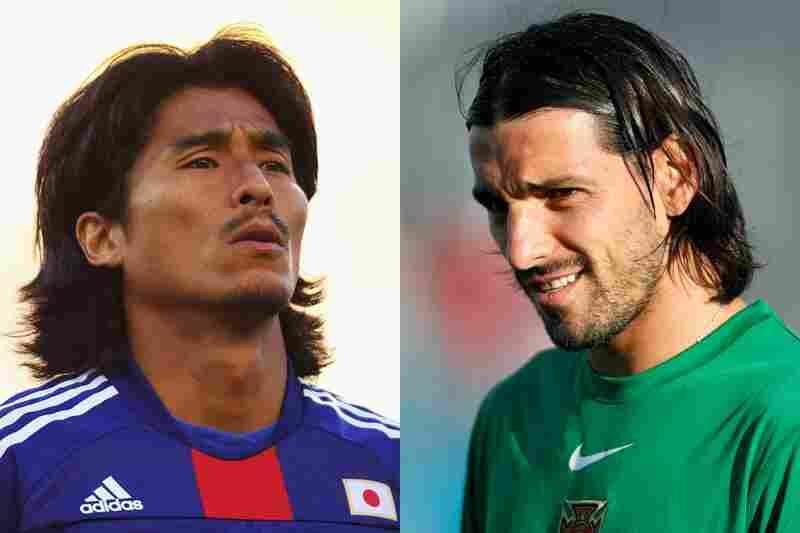 Japan vs. Portugal: PortugalUsing his own greasy locks as a natural headband, Danny manages to defeat Yuji Nakazawa.
