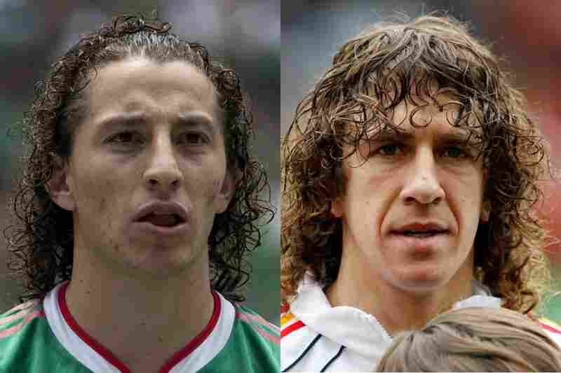 Mexico Vs. Spain: SpainAlthough a close match between Andres Guardado of Mexico and Carles Puyol of Spain, curly bangs push Spain to victory.