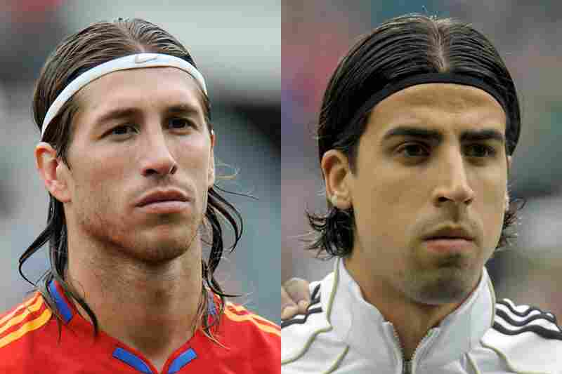 Spain vs. Germany: TieBoring. Is this really the best you can both do with those headbands?