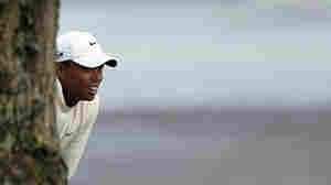 Tiger's In The Hunt At U.S. Open