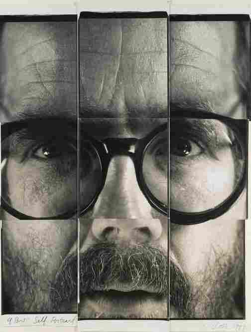 9-Part Self Portrait, unique collage of large-format Polapan prints, est. $50,000-$70,000