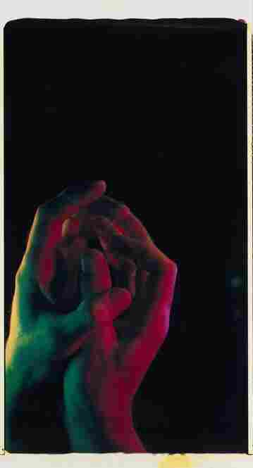 Ultra-Large (Hands), unique, mural-sized Polaroid Polacolor print, est. $20,000-$30,000