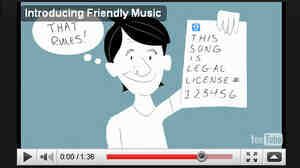 Friendly Music launches next week.