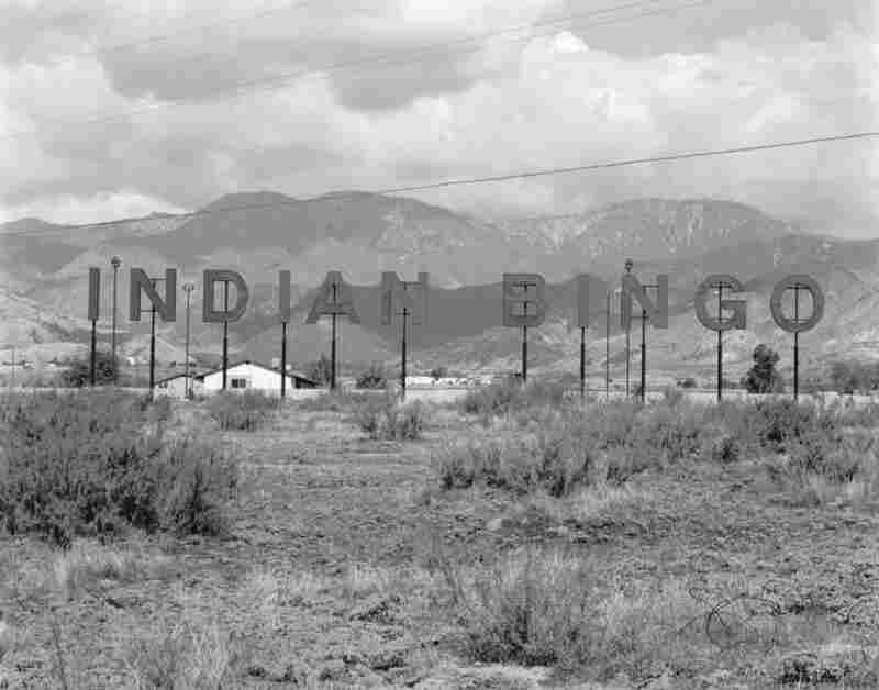 Indian Bingo, Morango Reservation, California, 1974