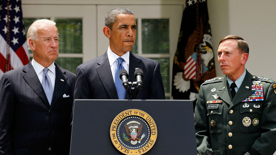 President Obama named Gen. Petraeus to replace Gen. Stanley McChrystal as top commander of the U.S. Force in Afghanistan. (Getty Images North America)
