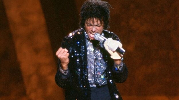 Michael Jackson performs at 'Motown 25' in 1983.