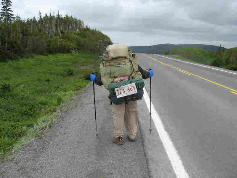 """Mark """"Captain America"""" Bailey hiked much of the Canadian portion of the International Appalachian Trail in 2006. These are some of his pictures from the trip."""