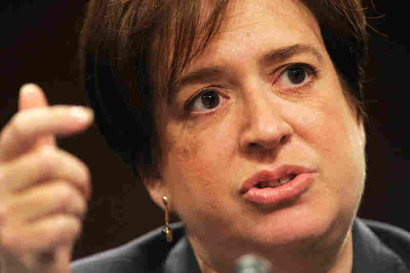 On the second day of Kagan's confirmation hearings, senators questioned her about her role as a judge and hot-button issues like abortion and gun rights.
