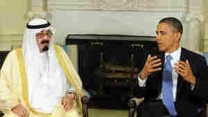 President Obama Meets With Saudi Arabian King Abdullah