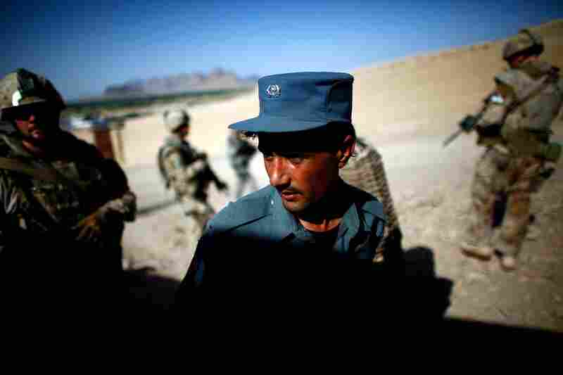 Training the Afghan police is a critical and also difficult task. Afghan police have a high illiteracy rate and are notorious for drug use and corruption.
