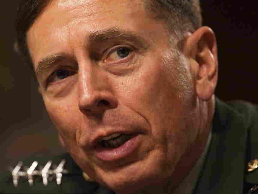 US Gen David Petraeus appears before the