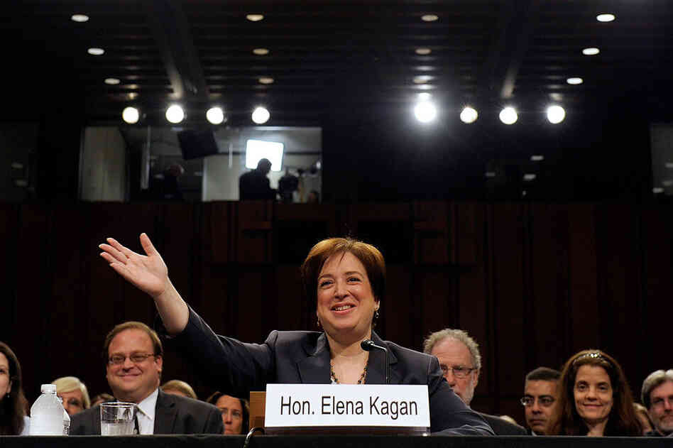 U.S. Supreme Court nominee Elena  Kagan testifies during her confirmation hearings before the Senate Judiciary Committee on Capitol Hill, June 29. Kagan is President Obama's second Supreme Court nominee since taking office.