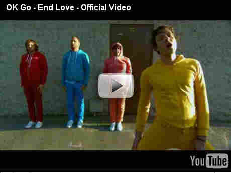 OK Go End Love video