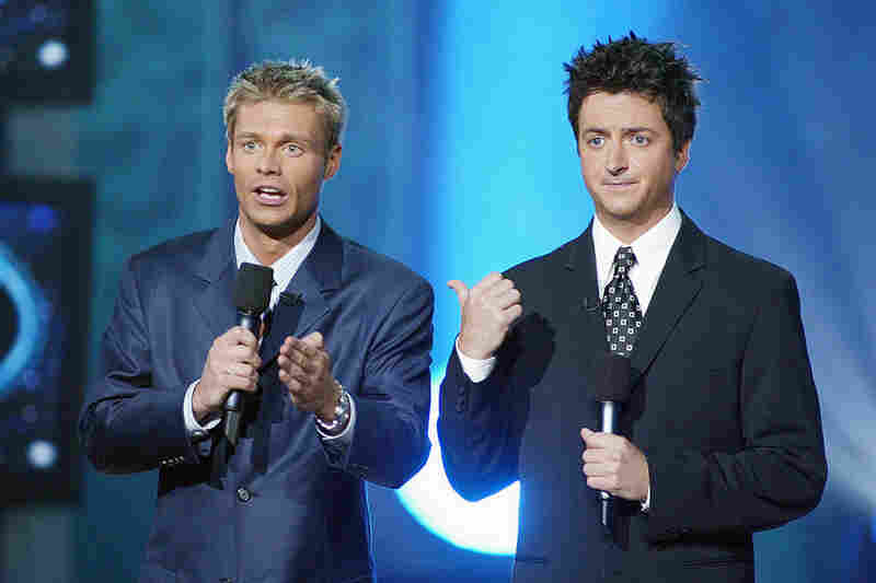 Brian Dunkleman, co-host of the first season of American Idol. Because Ryan Seacrest gets everything. - Travis Larchuk, Weekend All Things Considered
